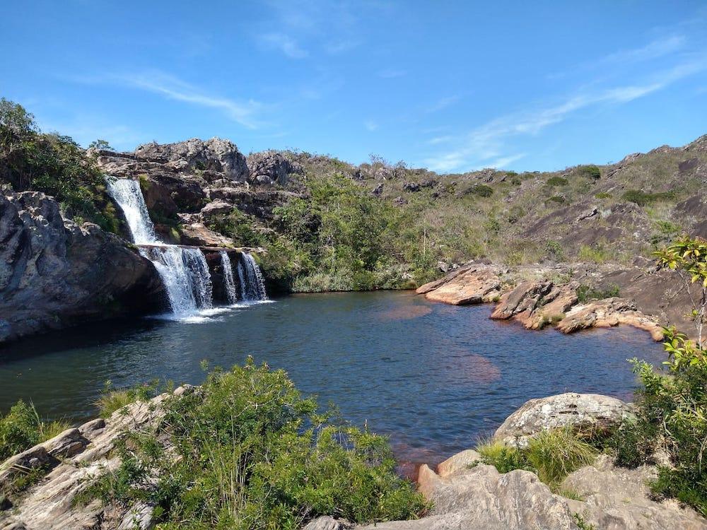 Cachoeira dos Cristais diamantina