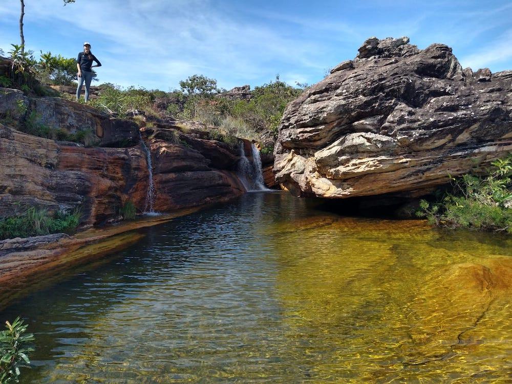 Cachoeira do Sentinela diamantina