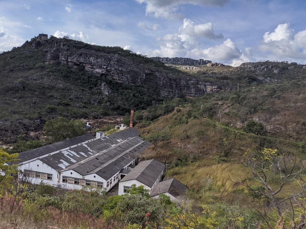 Vila do Biribiri em diamantina